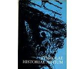 Szczegóły książki SYMBOLAE HISTORIAE ARTIUM