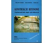 Szczegóły książki KONSTRUKCJE BETONOWE