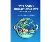 Szczegóły książki PRAWO MIĘDZYNARODOWE PUBLICZNE