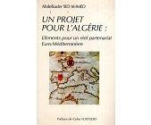 Szczegóły książki UN PROJET POUR L'ALGERIE...