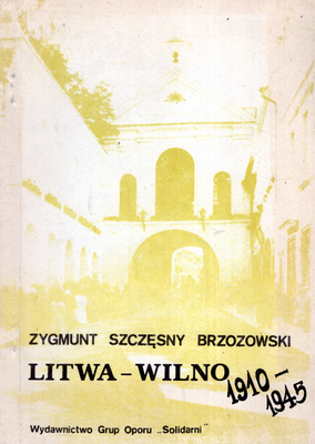 LITWA - WILNO 1910-1945