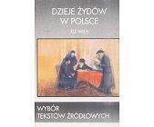 Szczegóły książki DZIEJE ŻYDÓW W POLSCE - XIX WIEK