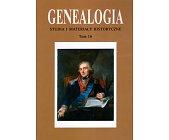 Szczegóły książki GENEALOGIA - TOM 16