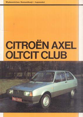 CITROEN AXEL OLTCIT CLUB - SILNIKI 1130 I 1303