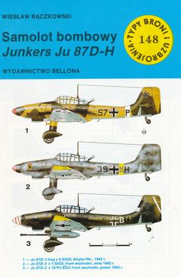 SAMOLOT BOMBOWY JUNKERS JU 87D-H (148)