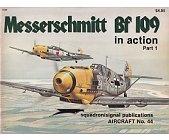 Szczegóły książki MESSERSCHMITT BF 109 (IN ACTION) PART 1