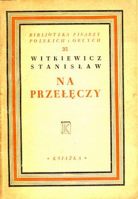 Znalezione obrazy dla zapytania Stanisław Witkiewicz Na przełęczy 1948