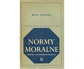 Szczegóły książki NORMY MORALNE