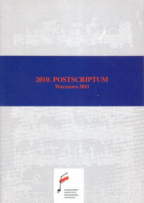 2010. POSTSCRIPTUM