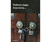 Szczegóły książki ZAPOMNIJ...
