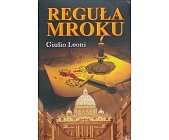 Szczegóły książki REGUŁA MROKU