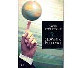Szczegóły książki SŁOWNIK POLITYKI