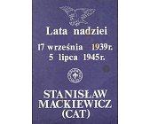 Szczegóły książki LATA NADZIEI: 17 WRZEŚNIA 1939 - 5 LIPCA 1945