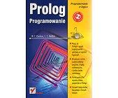Szczegóły książki PROLOG. PROGRAMOWANIE