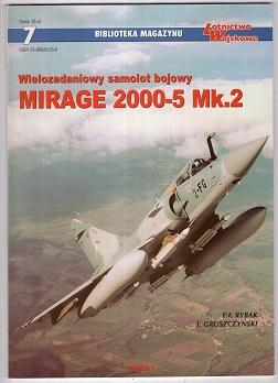 WIELOZADANIOWY SAMOLOT BOJOWY MIRAGE 2000-5 MK.2