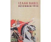 Szczegóły książki DZIENNIK 1920
