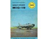 Szczegóły książki SAMOLOT MYŚLIWSKI MIG - 19 (50)