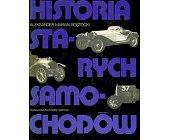 Szczegóły książki HISTORIA STARYCH SAMOCHODÓW