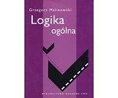 Szczegóły książki LOGIKA OGÓLNA