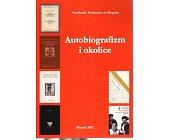 Szczegóły książki AUTOBIOGRAFIM I OKOLICE