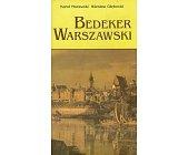 Szczegóły książki BEDEKER WARSZAWSKI