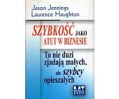 Szczegóły książki SZYBKOŚĆ JAKO ATUT W BIZNESIE