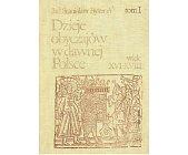 Szczegóły książki DZIEJE OBYCZAJÓW W DAWNEJ POLSCE WIEK XVI - XVIII - 2 TOMY