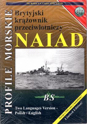 BRYTYJSKI PRZECIWLOTNICZY KRĄŻOWNIK HMS NAIAD