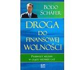 Szczegóły książki DROGA DO FINANSOWEJ WOLNOŚCI