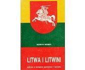 Szczegóły książki LITWA I LITWINI