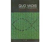 Szczegóły książki QUO VADIS - TRZECIE TYSIĄCLECIE