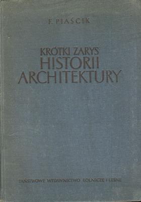 KRÓTKI ZARYS HISTORII ARCHITEKTURY