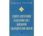 Szczegóły książki ZARYS HISTORII NAJNOWSZEJ KRAJÓW SKANDYNAWSKICH