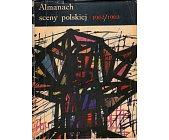 Szczegóły książki ALMANACH SCENY POLSKIEJ 1962/1963