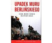 Szczegóły książki UPADEK MURU BERLIŃSKIEGO