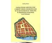 Szczegóły książki ZADŁUŻENIE HIPOTECZNE I OBRÓT NIERUCHOMOŚCIAMI W STARYM MIEŚCIE TORUNIU...