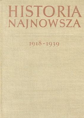 HISTORIA NAJNOWSZA KRAJÓW EUROPY ZACHODNIEJ I AMERYKI 1918 - 1939
