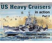Szczegóły książki US HEAVY CRUISERS IN ACTION, PART 2