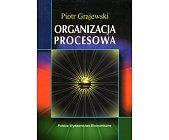 Szczegóły książki ORGANIZACJA PROCESOWA