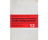 Szczegóły książki STUDIA RELIGIOZNAWCZE - TOM 13