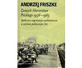 Szczegóły książki ZWIĄZEK HARCERSTWA POLSKIEGO 1956 - 1963