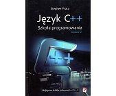 Szczegóły książki JĘZYK C++ SZKOŁA PROGRAMOWANIA