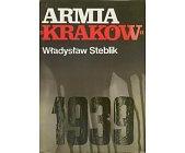 Szczegóły książki ARMIA KRAKÓW 1939