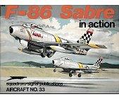 Szczegóły książki F-86 SABRE IN ACTION