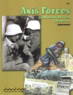 AXIS FORCES IN NORTH AFRICA 1940-43