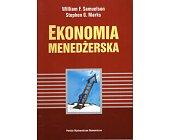 Szczegóły książki EKONOMIA MENEDŻERSKA