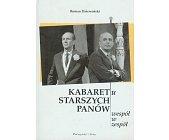 Szczegóły książki KABARET U STARSZYCH PANÓW WESPÓŁ W ZESPÓŁ