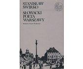 Szczegóły książki SŁOWACKI - POETA WARSZAWY