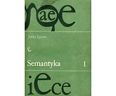 Szczegóły książki SEMANTYKA - 2 TOMY
