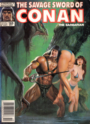 THE SAVAGE SWORD OF CONAN - THE BARBARIAN (NR 165)
